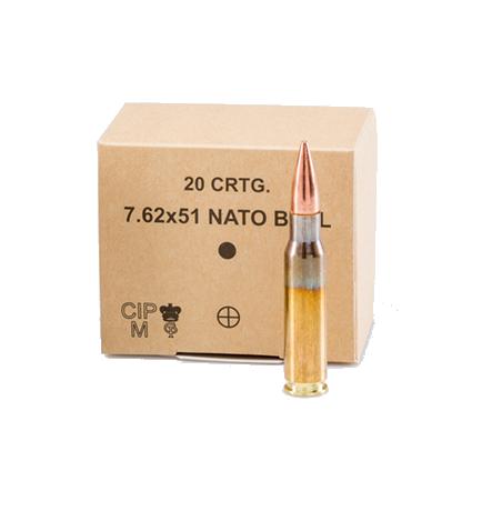 GGG 7.62×51 mm NATO BALL CARTRIDGES